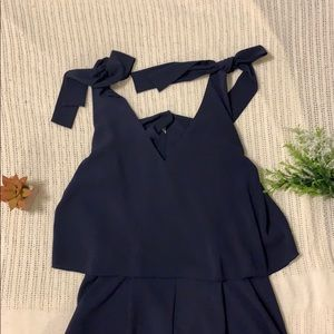 Navy H&M Romper (great condition!)